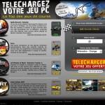 Landing Page pour Jeu A Télécharger